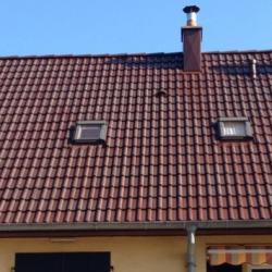 toiture peint