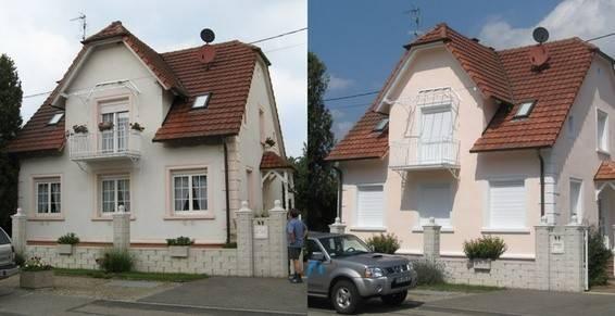 façade peint Souchez