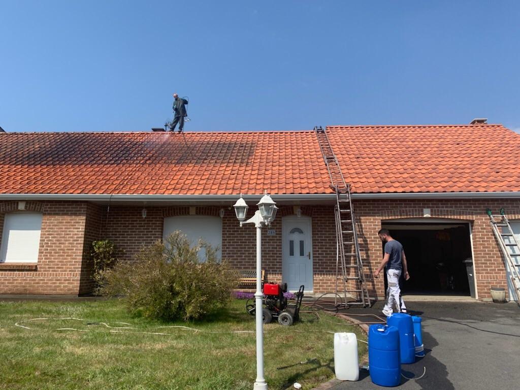 Nettoyage de toiture a hermin 2